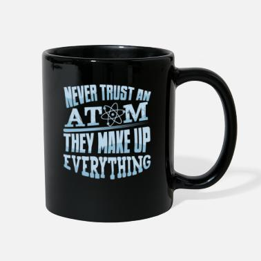 Research physics teacher physicist Nerd work - Full Color Mug