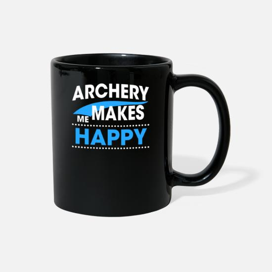 Stag Mugs & Drinkware - ARCHERY - Full Color Mug black