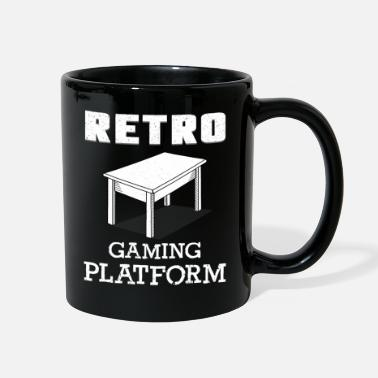 Game Retro Original Gaming Parody for Board Game Lovers - Full Color Mug
