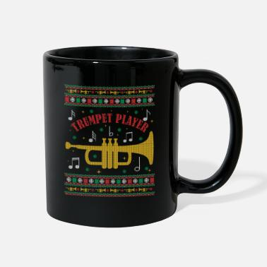 Stage Trumpet Player - Xmas Music Gift - Full Color Mug