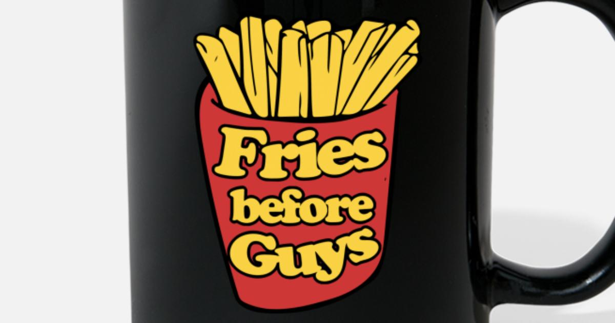 353b2431 Fries before GUYS Full Color Mug | Spreadshirt