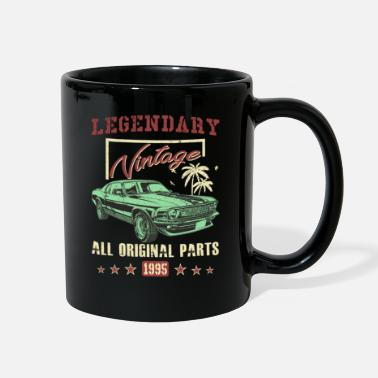 Legendary Vintage 1995 All Original Parts 23th Birthday Gift - Full Color Mug