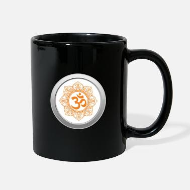 Divine Om Symbol for peace meditation yoga - Full Color Mug