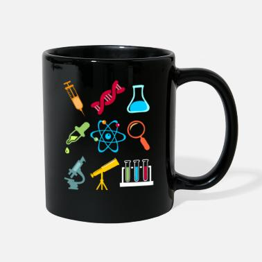 Model Physik DNA Element Atom E=mc² Science Gift - Full Color Mug