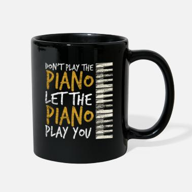 Let The Piano Play You - Full Color Mug