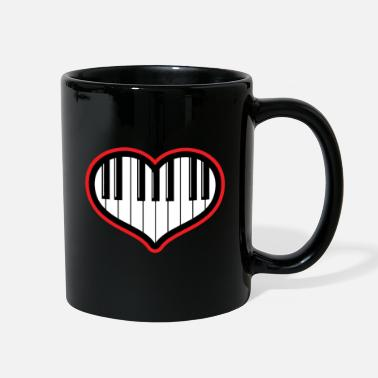 Piano Piano gift piano and grand piano - Full Color Mug