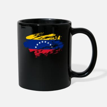 T-v Venezuela Flag T-Shirt - Full Color Mug