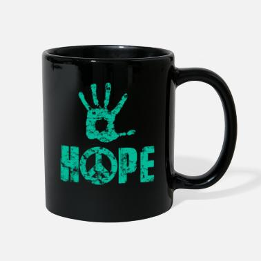 Freedom Of Expression Hope And Peace - Freedom Of Expression - Full Color Mug