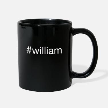 Tag #william name name tag present gift idea - Full Color Mug