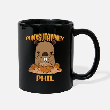 Groundhog Day Punxsutawney Phil Pennsylvania PA - Full Color Mug