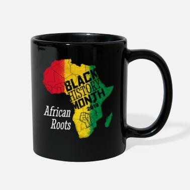 Beautiful Black History Month 2019 African Roots Gift - Full Color Mug