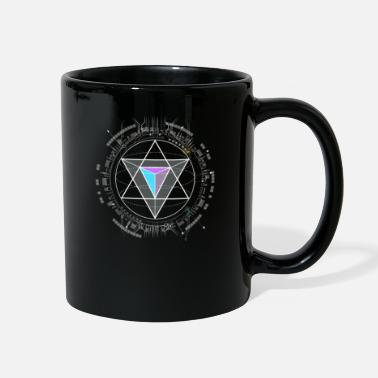 nerd CPU pyramid illuminati core computer pc space - Full Color Mug