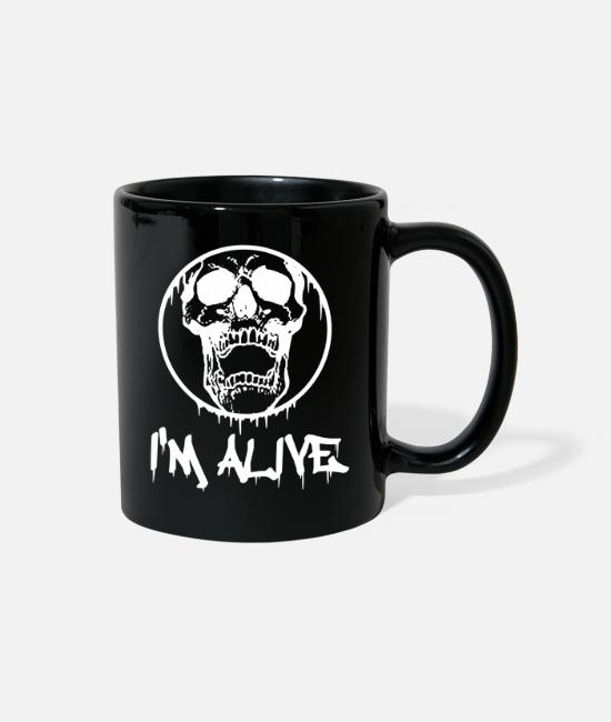 Villa Mugs & Cups - I'm alive - I'm alive - Full Color Mug black