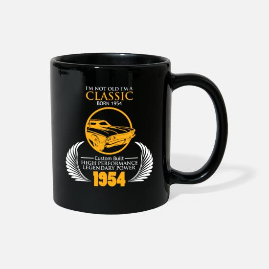 Gift Idea Mugs & Drinkware - Classic Car 1954 Birthday Gift Legendary Power 65 - Full Color Mug black