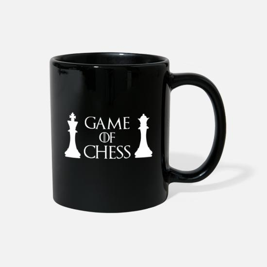 Intelligent Mugs & Drinkware - Game of Chess - Chess - Full Color Mug black