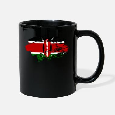 Russian Kenya Flag Shirt - Full Color Mug