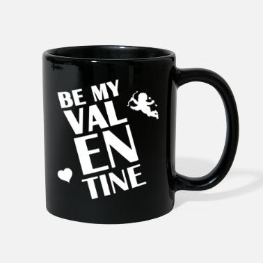 Cupido Logo Be my Valentine Cupido Heart giftidea Love - Full Color Mug