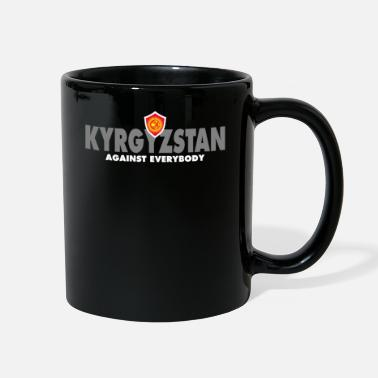 Against Kyrgyzstan Against Everybody - Full Color Mug