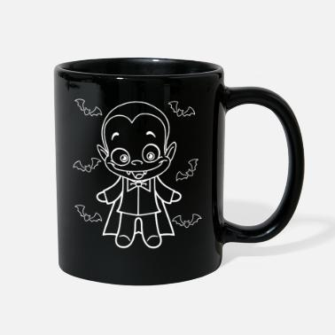 Ghost Draku - Happy Halloween for kids - Full Color Mug