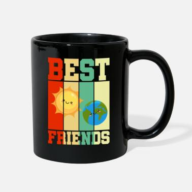 Soul Mate Earth Sun Best Friends BFF Retro Gift - Full Color Mug