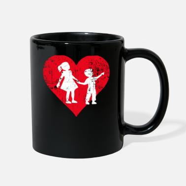 Siblings A Heart For Siblings - Siblings Tee Shirt - Full Color Mug