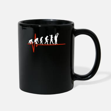 Crossbow Crossbow Heartbeat - EVOLUTION OF CROSSBOW - Full Color Mug