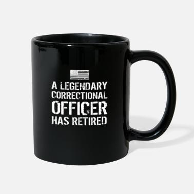 Prison Retired Penal Correctional Officer Retirement Gift - Full Color Mug