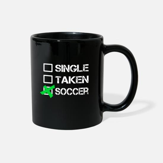 Soccer Mugs & Drinkware - Soccer - Full Color Mug black