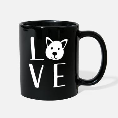 Love Dog love dogs love dog gift - Full Color Mug