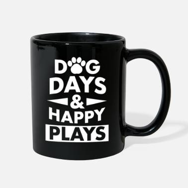 Happiness happy dogs shirt gift - Full Color Mug