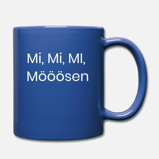 Easter Mugs & Drinkware - Mi, Mooosen - Full Color Mug royal blue