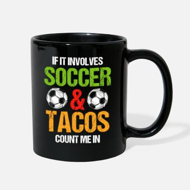 Yellow Soccer Coach Red Card World Champion - Full Color Mug