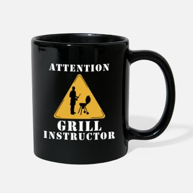 Grill Instructor Attention grill instructor - Full Color Mug