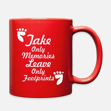 Travel related quote - Full Color Mug