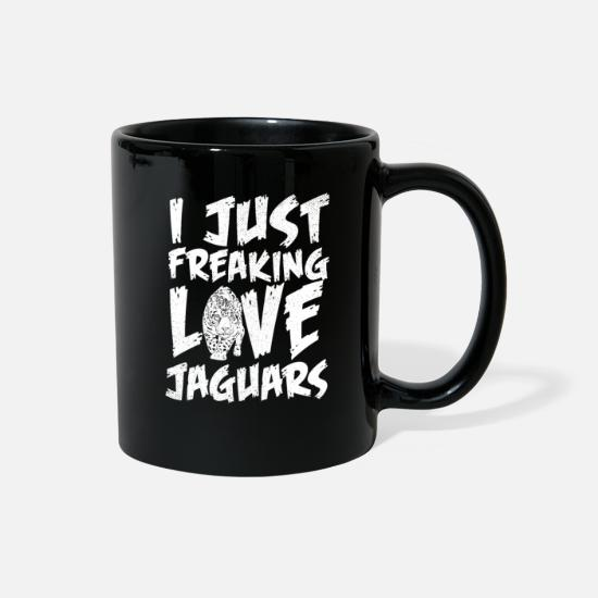Love Mugs & Drinkware - Jaguar animal love - Full Color Mug black