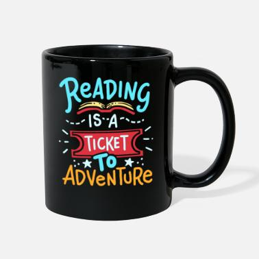 Read Reading Read - Full Color Mug