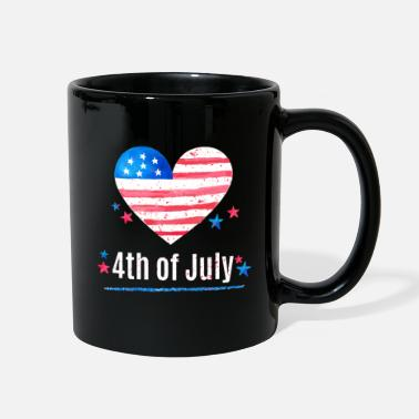 July 4th of july - Full Color Mug