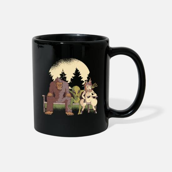 National Park Mugs & Drinkware - Mythological Creatures - Full Color Mug black