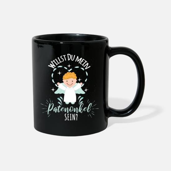 Gift Idea Mugs & Drinkware - Do you want to be my godfather? - Full Color Mug black