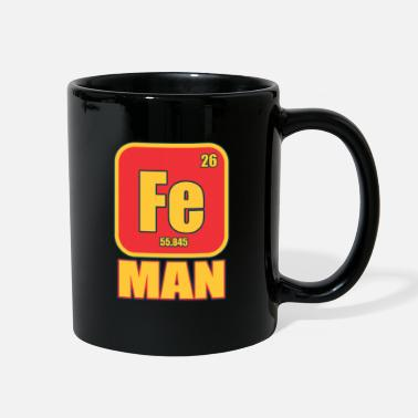Iron Metal Iron Man Funny Costume Metal Element Gift - Full Color Mug