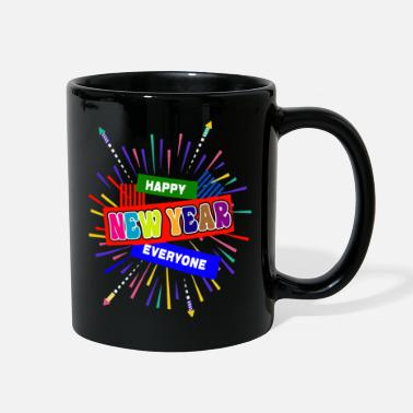 New Years Day New Year - Full Color Mug