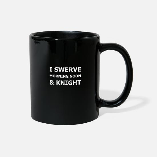 Gift Idea Mugs & Drinkware - knight equestrian riding castle castle - Full Color Mug black