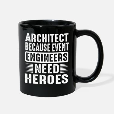 Hero Architect because even managers need heroes - Full Color Mug