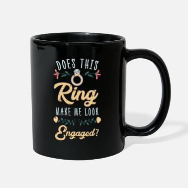Bride Engagement Ring - Full Color Mug