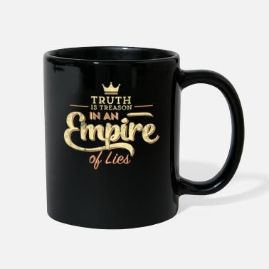 Obama Truth is Treason In An Empire Of Lies print - Full Color Mug