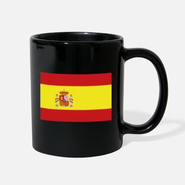 Spain Flag of Spain, Spains flag, flag Spain, Spain flag - Full Color Mug