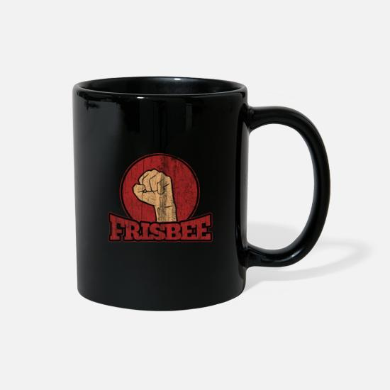 Game Mugs & Drinkware - Frisbee Ultimate Frisbee Sport Hobby - Full Color Mug black