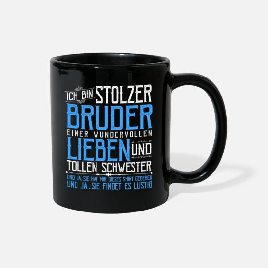 Brother Mugs & Drinkware - Brother - Full Color Mug black