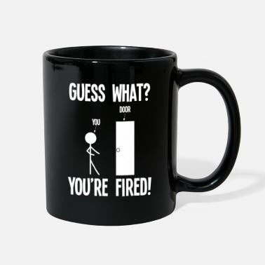 Government Employee fired Graduation College - Full Color Mug