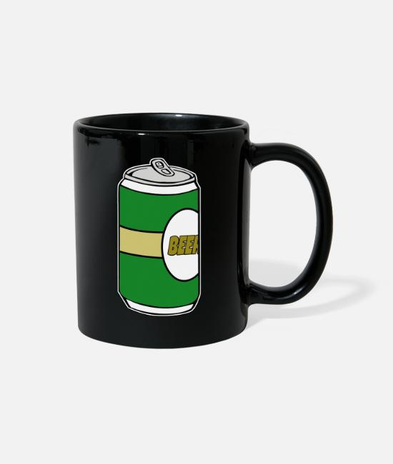 Can Of Beer Mugs & Cups - Beer - Beer - Beer cans - Can of Beer - Full Color Mug black